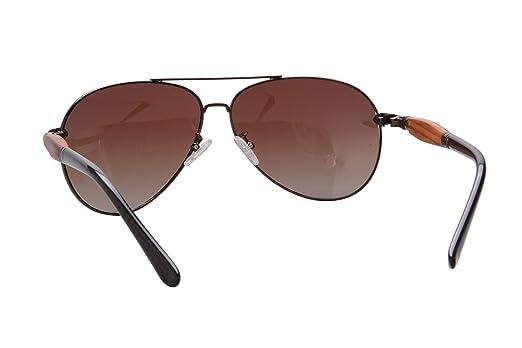 SHINU Flieger-Sonnenbrille aus Metall polarisierte Linse Männer Art und Weise poliert UV400 Schutz Sonnenbrille Sichere 1580 (gun gradient grey) gV9oEZjw