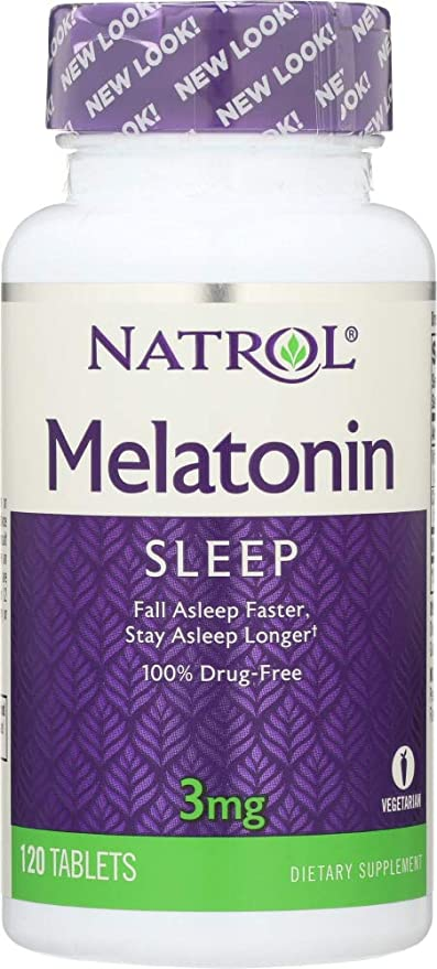 Natrol (NOT A CASE) Melatonin 3 mg, 120 Tablets