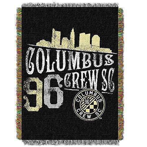 Woven Triple Layer Tapestry Throw (MLS Columbus Crew Handmade Woven Tapestry Throw, 48
