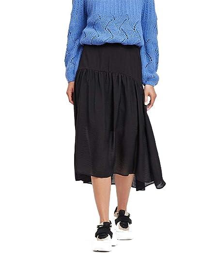Falda Mujer Vila Vijammi Skirt Negro: Amazon.es: Zapatos y ...