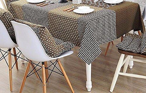 WFLJL Tischdecke Mode Esstisch Couchtisch Couchtisch Couchtisch Rechteck Tuch Braun 140  180cm 992f9d