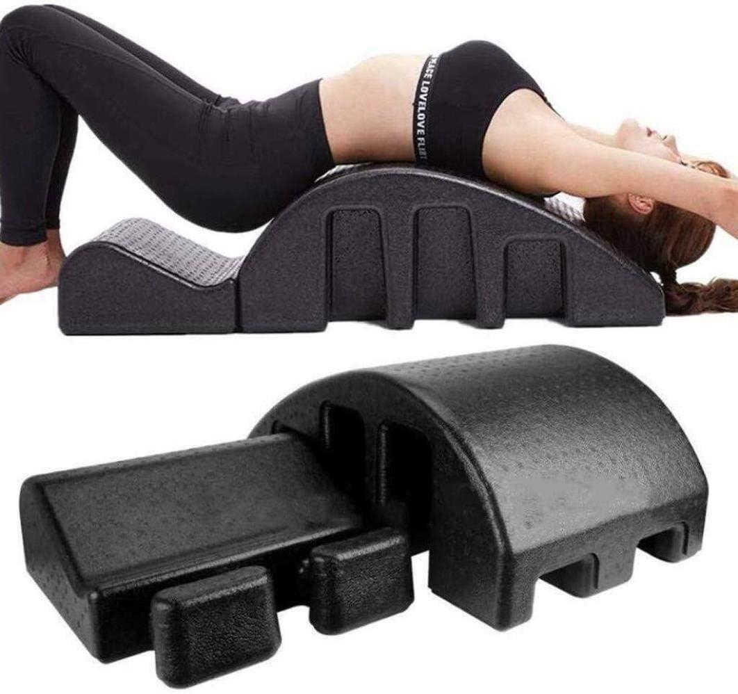 YF-SURINA Equipo deportivo Cama de masaje Yoga Columna vertebral Pilates Arc Cama de masaje Pilates Función múltiple Órtesis de columna Pula Mesa de masaje para mejorar la resistencia de la postura C