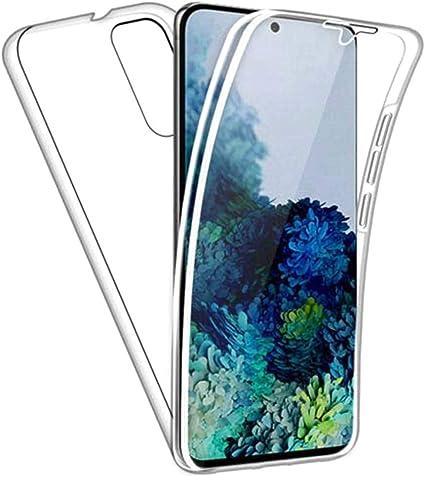 COVER per Xiaomi Redmi 9A CUSTODIA Fronte Retro 360° SILICONE SLIM TPU CLEAR