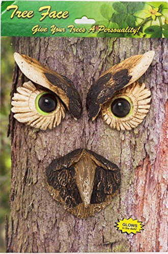 "Land & Sea ""Owl Tree"" Tree Face Decoration"