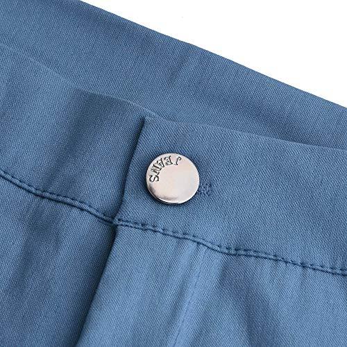 Skinny FAMILIZO Vaqueros Altos ❤️ Alto Mujer Aplique Azul Tallas Casual Mujer Tejanos Largos Vaqueros Rotos Grandes Talle Slim Fit Pantalones Ajustados Mujer Vaqueros UUrdq