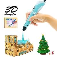 Set stylo cosyvie Imprimante 3D pour enfants/adultes 3D Impression Stylet professionnelle avec écran LED 3D avec Filament 1.75mm PLA Mines pour adulte, kritzeln, artiste, fille, DIY, dessin etc