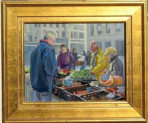 Buy selling vegetables
