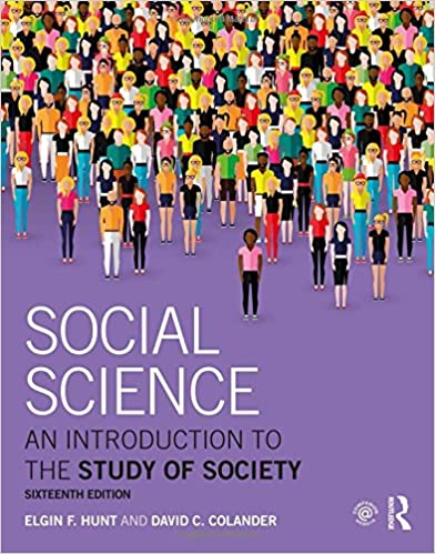 amazon com social science an introduction to the study of society