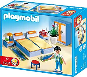 Playmobil master bedroom toys games for Salle de bain villa moderne playmobil