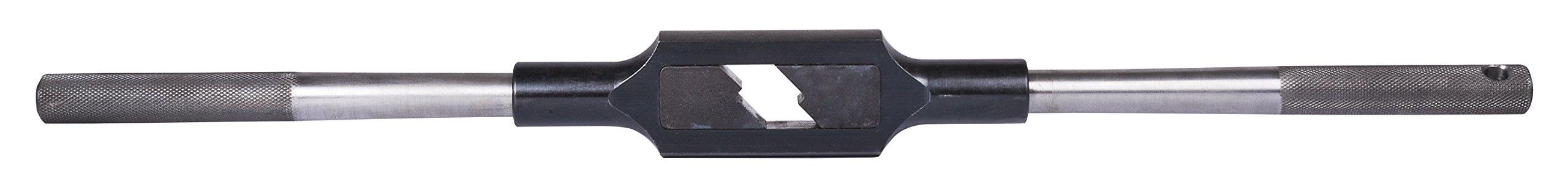 Dormer 3850N11 Tap Wrench, Straight Handle, #11, Hand Reamer Capacity 3/8'' - 3/4'', Hand Tap Capacity 3/8'' - 1'', Full Length 20''