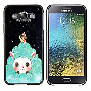 Dragon Case - FOR Samsung Galaxy E5 E500 - happy new year - Caja protectora de pl??stico duro de la cubierta Dise?¡Ào Slim Fit