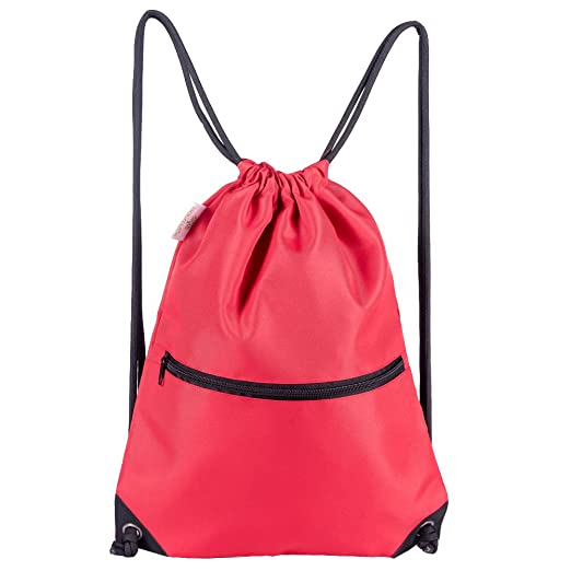 White, Purple, Burgundy,Black,Navy Blue,Red,Blue HOLYLUCK Men /& Women Sport Gym Sack Drawstring Backpack Bag