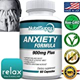 Anxiety Relief Stress Relief Supplement 900mg For