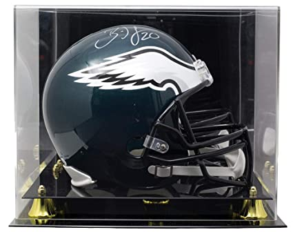 a62860174b7 Brian Dawkins Signed Philadelphia Eagles Full Size Riddell Helmet JSA  w/Deluxe Acrylic Display Case