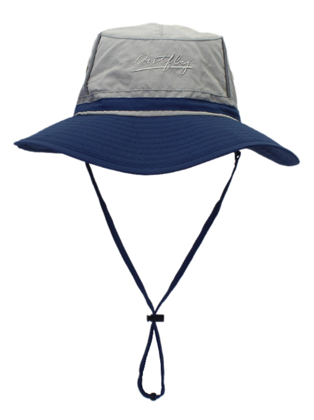 Panegy Outdoor Summer Sun Hats Fishing Anti-UV Ultralight Fashion Colorblock Boonie Bucket Hats 360°Solar Protection