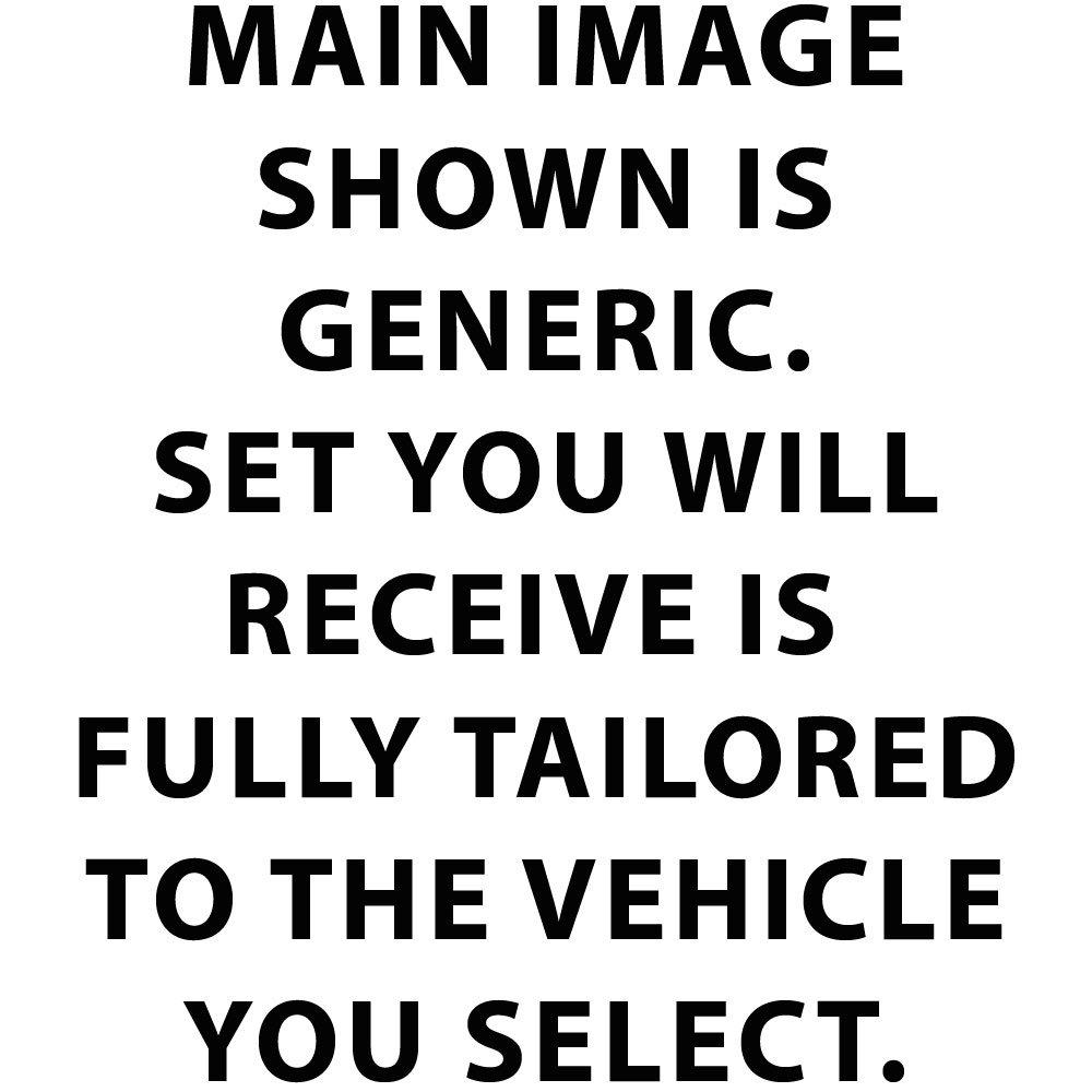 JVL Fully Tailored 4 Piece Jubilee Union Jack Tailored Car Mat Set