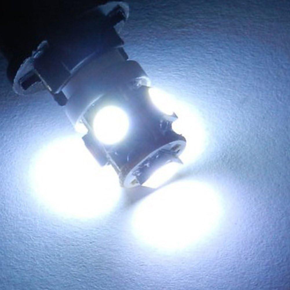 TABEN Ampoule T10 LED Ambre 5050 5SMD Voiture LED Lampe de Rechange 194 168 2825 175 W5W LED Carte de d/ôme int/érieure Clignotants de courtoisie Lampe de Plaque dimmatriculation Pack de 10
