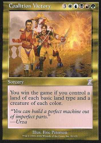 Magic the Gathering: Coalition Victory (Foil) - Time Spiral Time Shifted