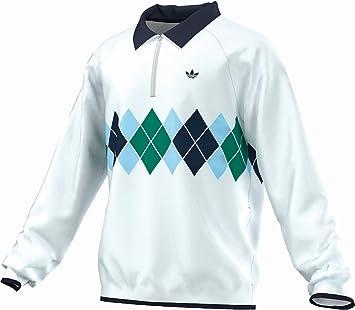 adidas Originals para Hombre Argyle Golf Chaqueta Cortavientos ...