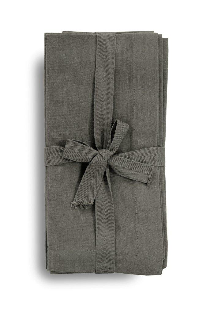 White Harman 100-Percent Cotton Oversized Solid Napkin