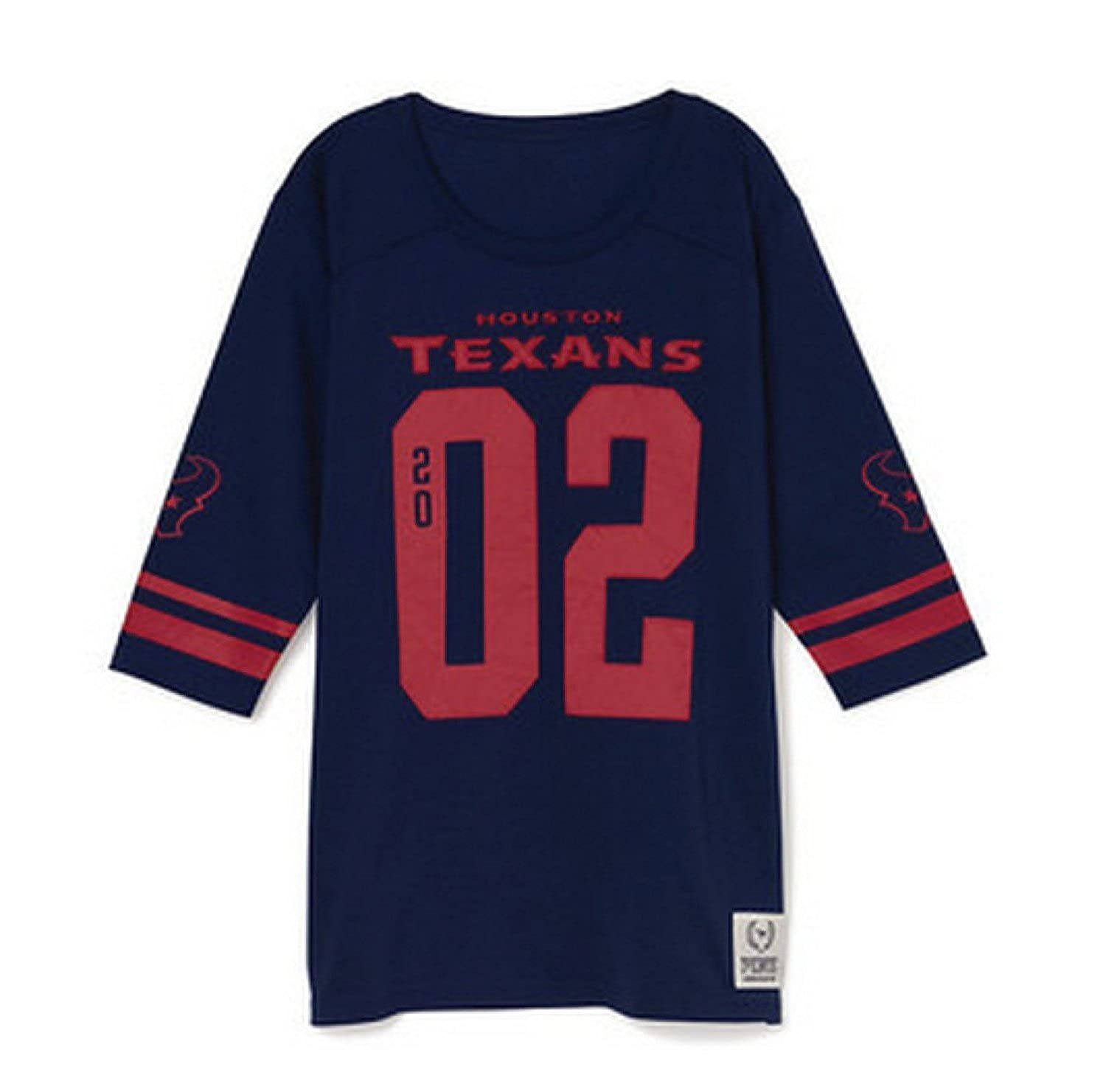 Victoria s Secret PINK Houston Texans Jersey T-shirt Navy Blue (X-Small) at  Amazon Women s Clothing store  4bd97a3ca403