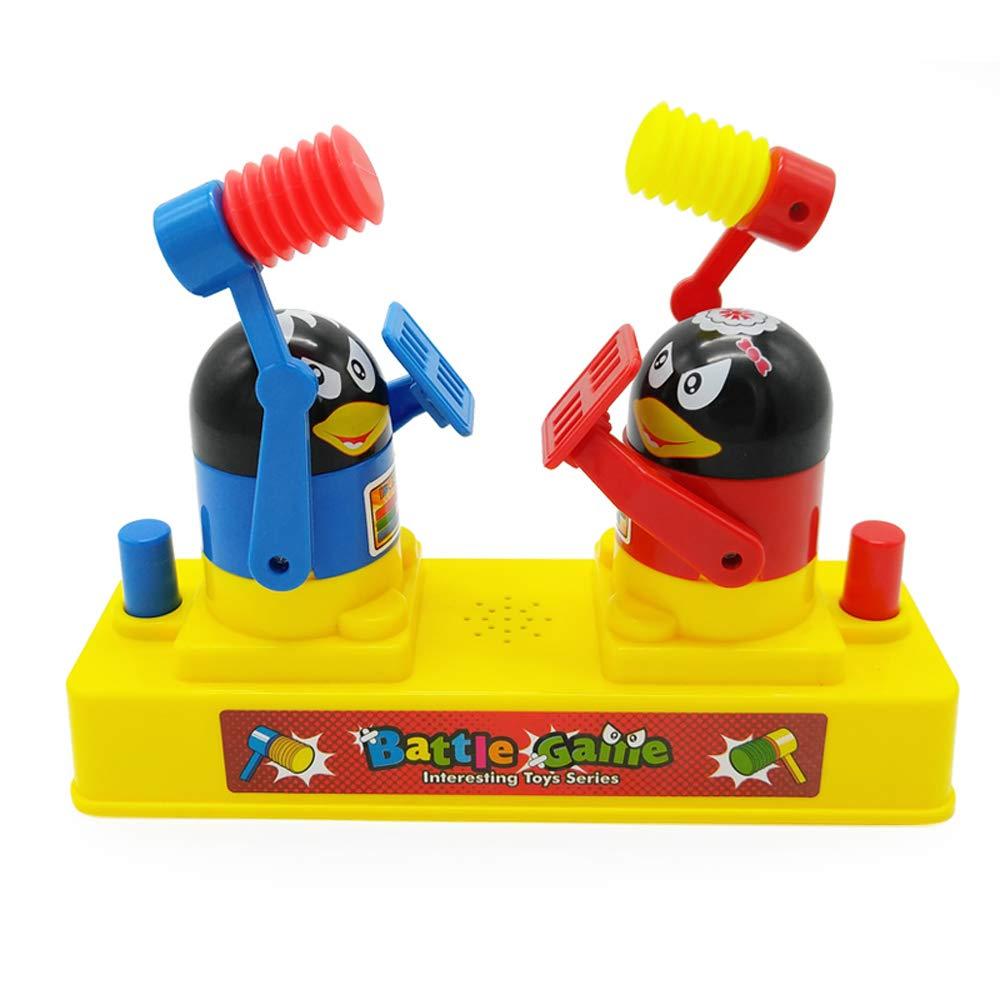 YRE Enfants Puzzle Table Jouets, Parent-Enfant Jeux interactifs avec de la Musique, Jeux de Combat de Bureau