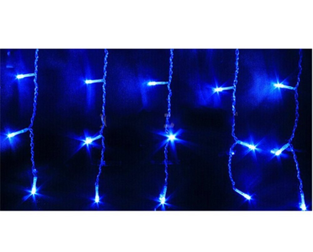 Buoceans®led catena luminosa 216 led 5 m natale decorazione luci