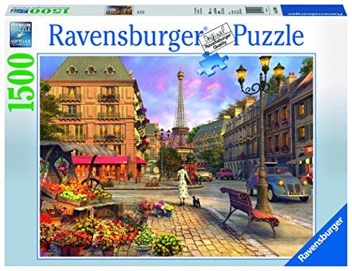 Price comparison product image Ravensburger Vintage Paris Jigsaw Puzzle (1500 Piece)