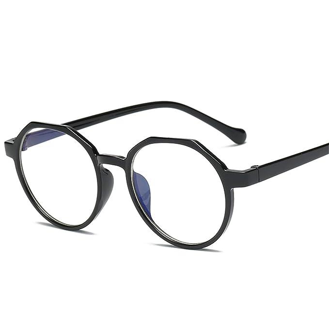 3726124358 Fashion Glasses TR Frame Women Eyeglasses Frame Vintage Round Clear Lens  Glasses 1