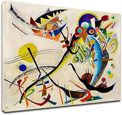 GRAFIC Cuadro de Kandinsky El pájaro-Wassily Kandinsky el Marco de ...