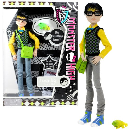 [Mattel Year 2011 Monster High Diary Series 12 Inch Doll - JACKSON JEKYLL