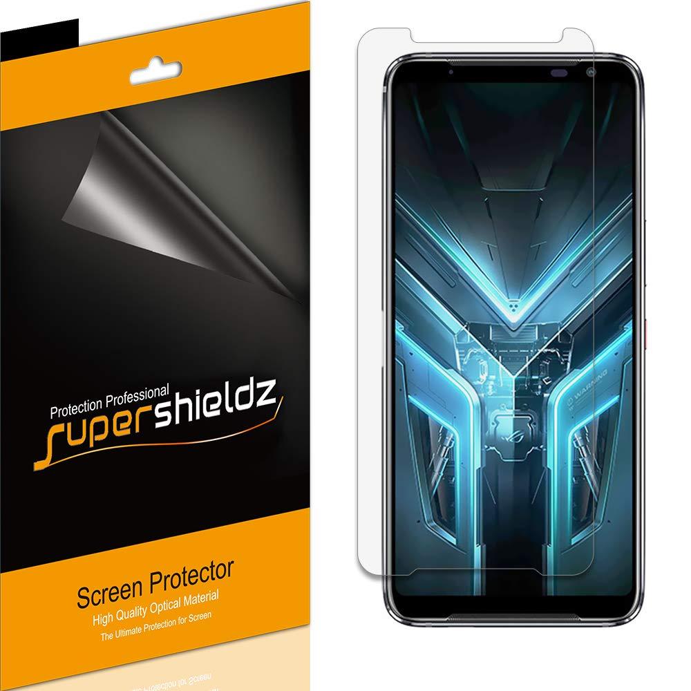 (6 Pack) Supershieldz for Asus (ROG Phone 3) Screen Protector, Anti Glare and Anti Fingerprint (Matte) Shield