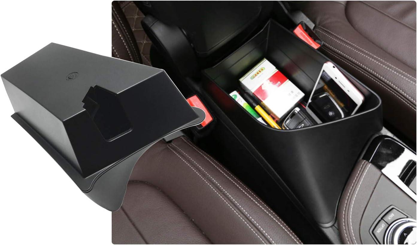 Organizer per Auto Accessori Nero Vano portaoggetti Console Storage Box RUIYA X1 F48//X2 F49 Console Centrale Scatola di Immagazzinaggio