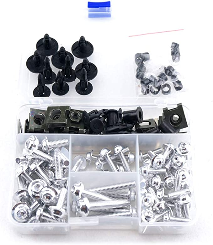 KETABAO CNC Fairing Bolts 899 Logo Black Fairing Bolts Kit For Panigale 899 R S 13-19 16 17 18