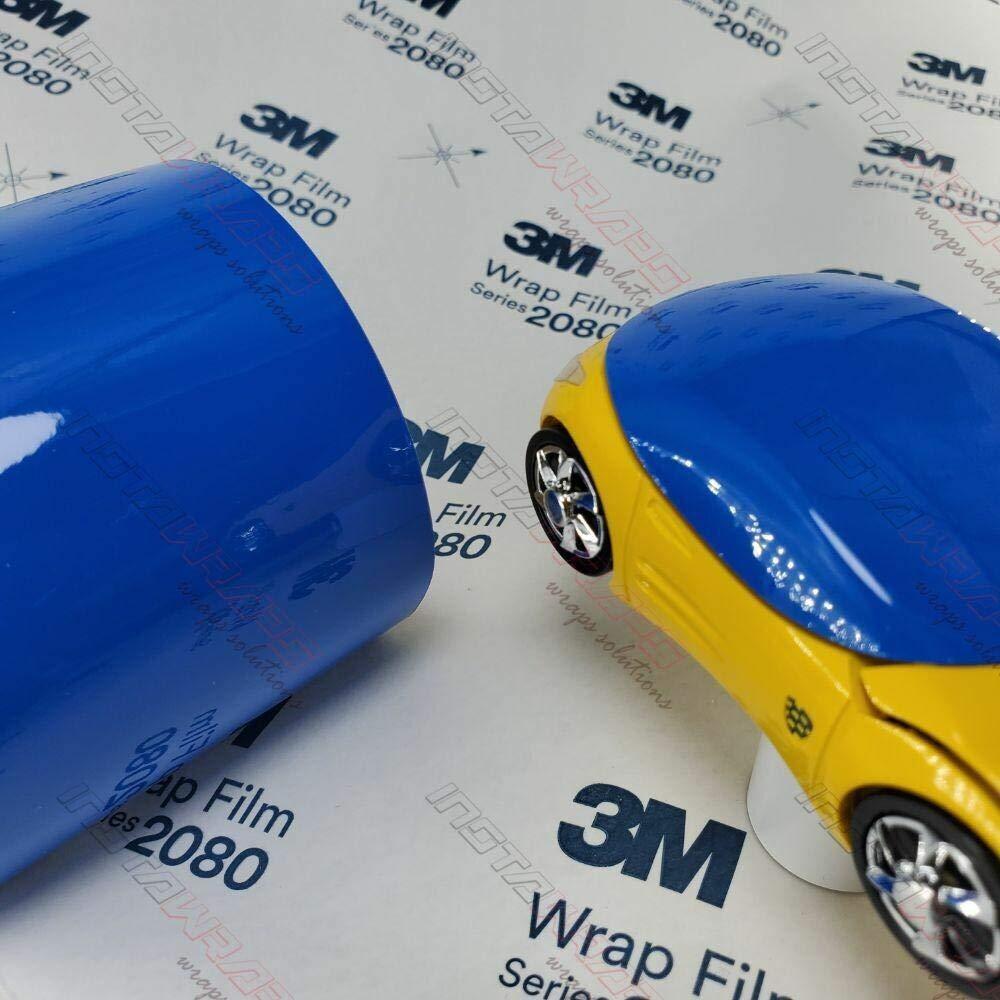 3M 1080 G47 GLOSS INTENSE BLUE 5ft x 1ft (5 Sq/ft) Car Wrap Vinyl Film