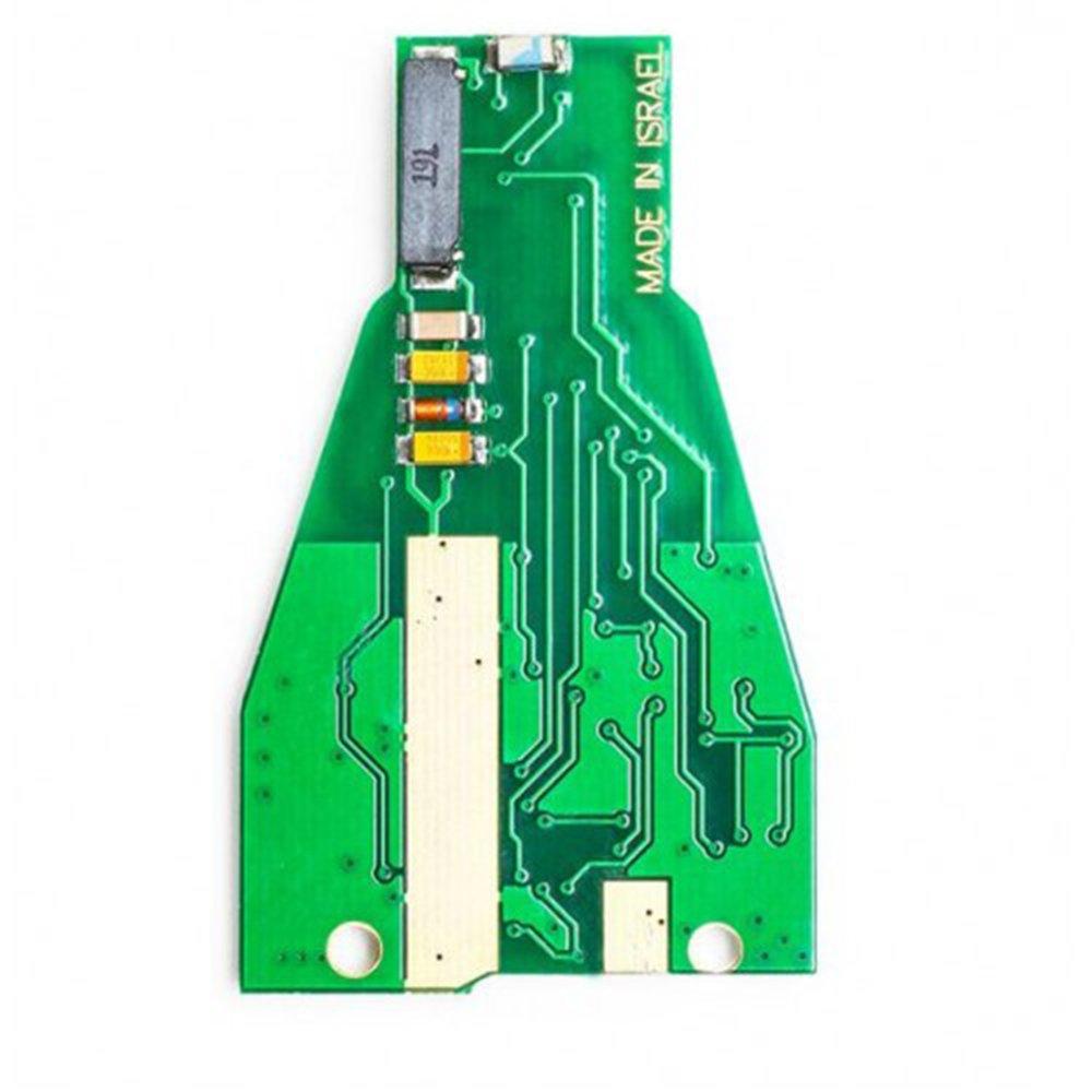 Keyecu Pair Remote Car Key Fob 3+1 Button 315MHz NEC Chip for Mercedes-Benz 2000-2014