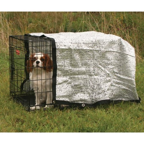 Cheap Pro Select Solar Crate Canopy, Protective Dog Crate Cover