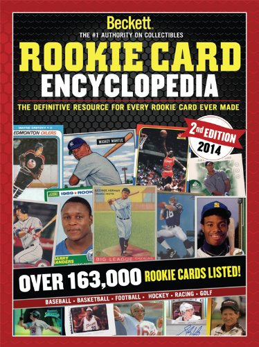 Rookie Card Print - Rookie Card Encyclopedia 2nd Edition 2014