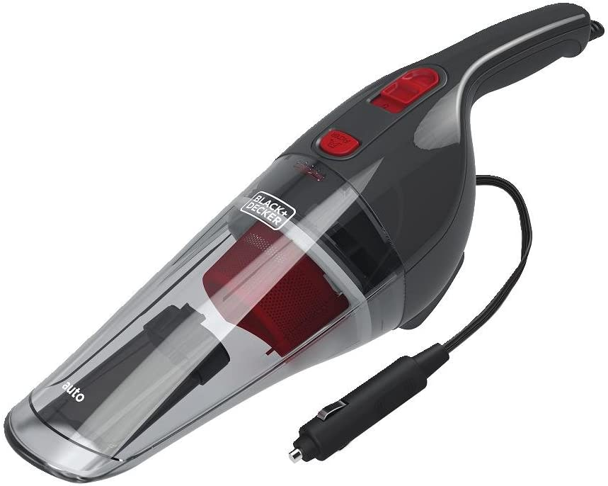 BLACK+DECKER Handheld Vacuum for Car, Corded, Grey (BDH1200NVAV)