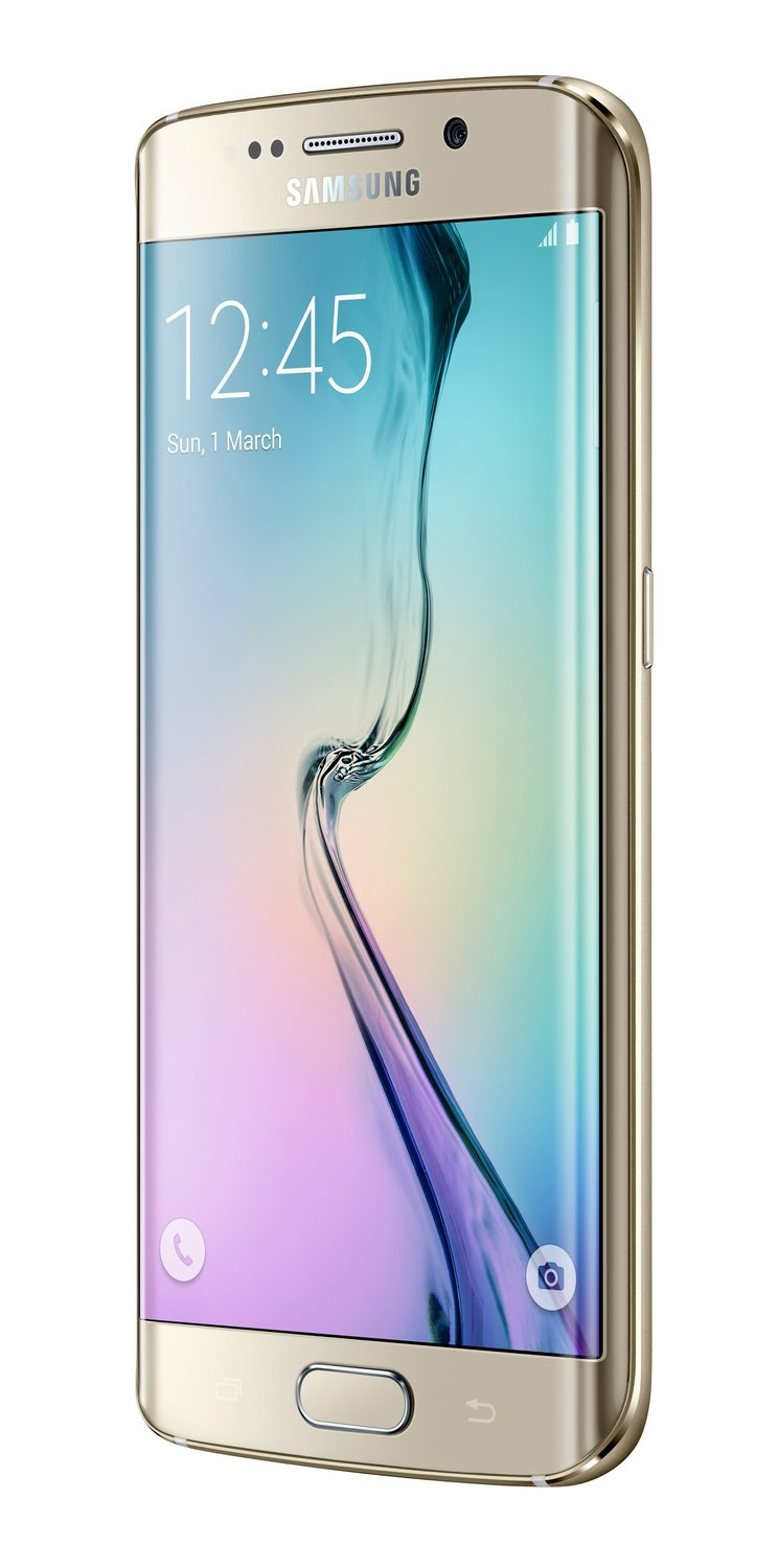 Samsung Galaxy S6 Edge UK SIM-Free Android Smartphone - Gold