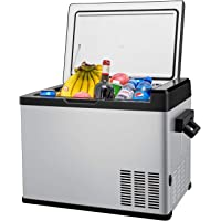 DC 12//24V RV Road Trip Van 0℉-50℉ Car Fridge Compact Refrigerator BBQ for Truck Picnic SetPower AJ30 32 Quarts Portable Freezer Fridge 12V Cooler Camping Outdoor Patio AC 110-240V
