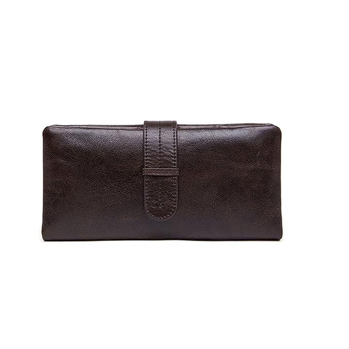04bbdf55d2a6 Credit Card Genuine Leather Slim Luxury Wallets for Men Clutch Purse ...