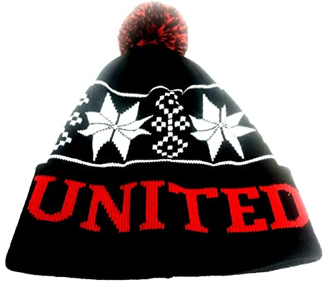 Amazon Com Simpsonsfootball United Fans Hat Pom Pom Bobble