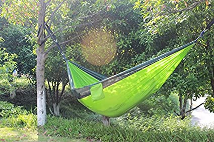 Sleeping Parachute Hammock Chair Hamak Garden Swing Hanging Outdoor Hamaca