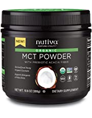 Nutiva Organic MCT Powder with Prebiotic Acacia Fiber, 300g