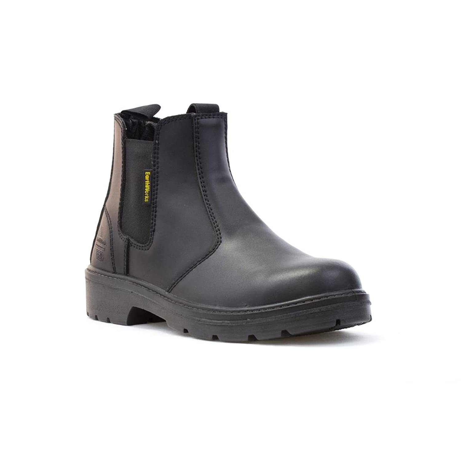 cc8954ed464 50%OFF Earth Works - - EarthWorks Mens Black Chelsea Safety Boot ...