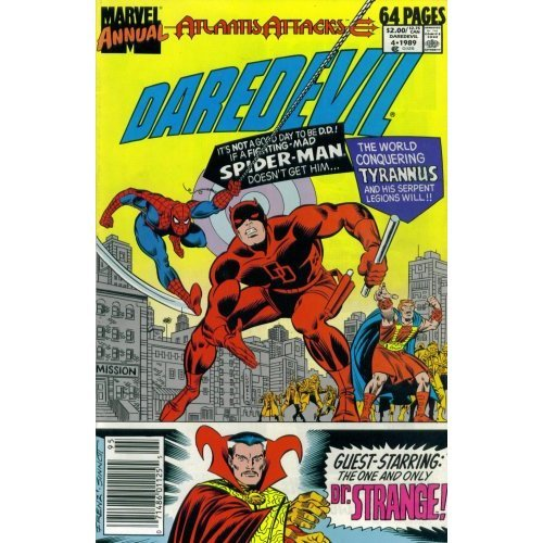 Daredevil Annual #4 : A Friend In Need (Marvel Comics)
