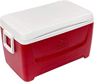 product image for Igloo Island Breeze 48 Quart Cooler (Lava Red, 25.562 x 14.062 x 14.125-Inch)