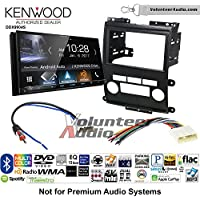 Volunteer Audio Kenwood DDX9904S Double Din Radio Install Kit with Apple CarPlay Android Auto Bluetooth Fits 2009-2012 Nissan Frontier, Xterra
