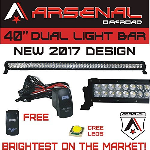 led light bar 40 curved - 9